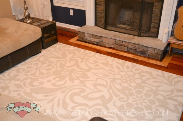 Mohawk Area Rug Review + Giveaway on One Tough Mother