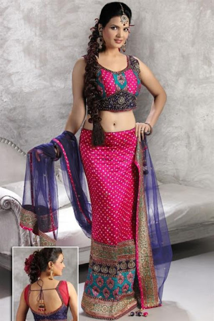 Sari Blouse Designs 2012