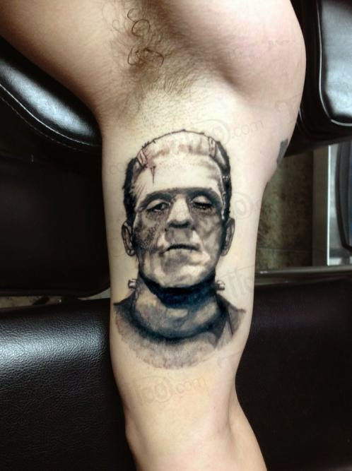 Frankenstein's Monster Tattoo