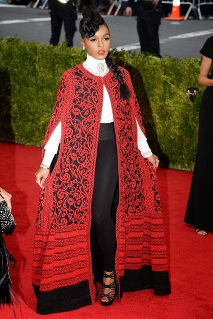 Red Carpet Met Gala 2014 Janelle Monae