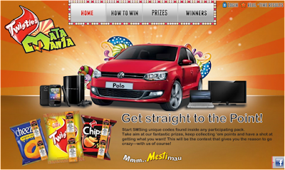Twisties 'Mata Mania' Contest