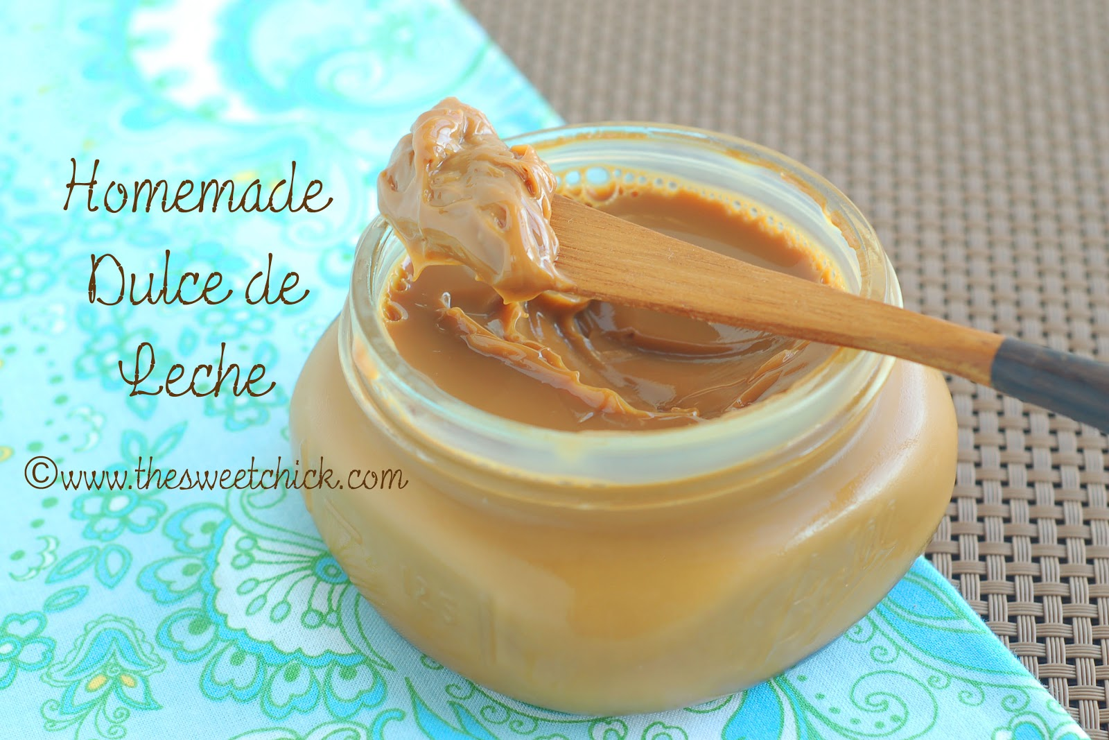 The Sweet Chick: Homemade Dulce de Leche Revisited