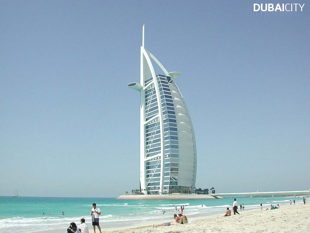 World visits the modern advance city dubai wallpaper for Dubai al arab