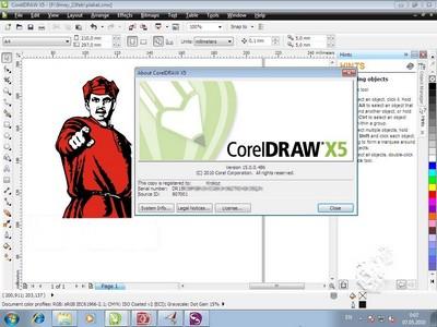 Corel Draw X5 Rathalos Killer