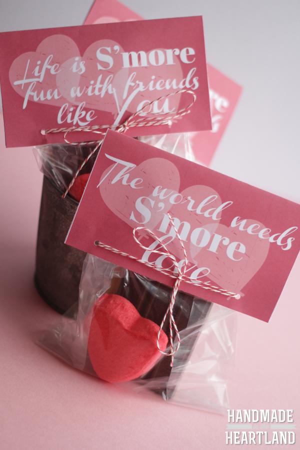 Su0027more Valentine Free Printable