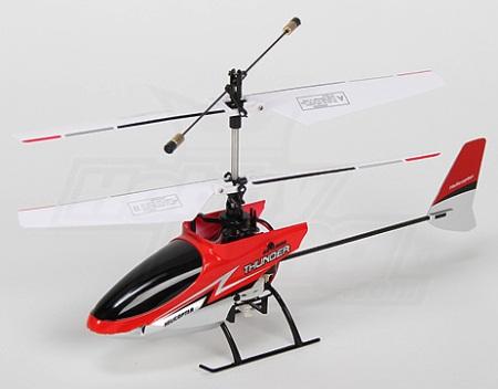 Micro helicóptero Thunder 4CH 2.4GHz