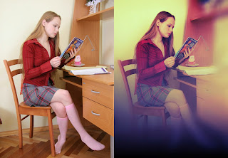 Tutorial Dasar Membuat Effect Lomography Dengan Photoshop