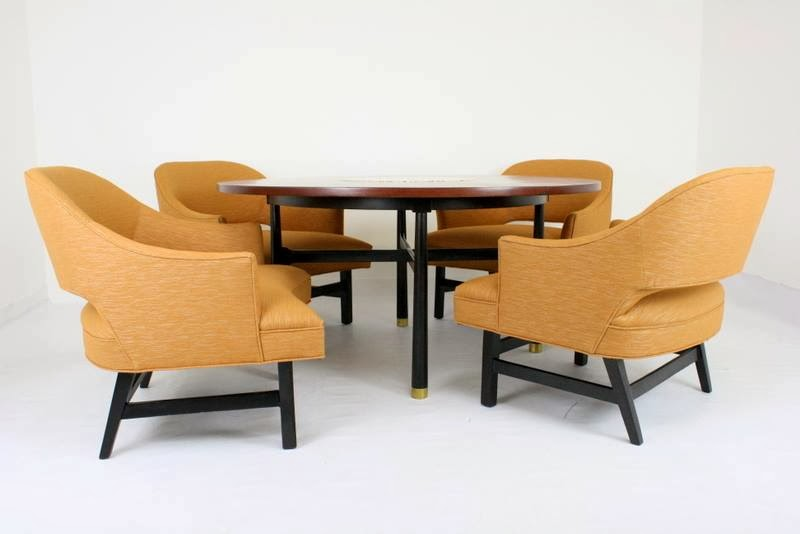 Mid2mod in the store harvey probber game table and chairs harvey probber game table and chairs watchthetrailerfo