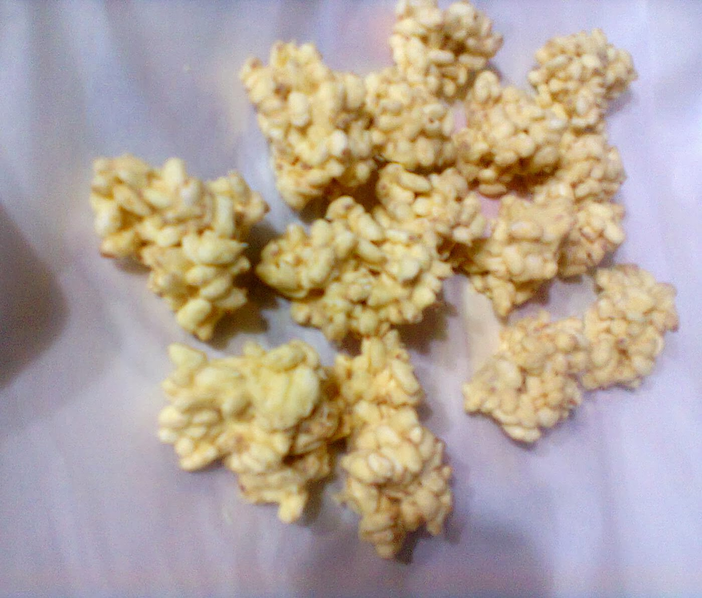 ricetta dolci giallo zafferano blog cucina a pummarola 'ncoppa cioccolato riso soffiato ricette veloci dell'ultimo minuto ospiti improvvisi cucina