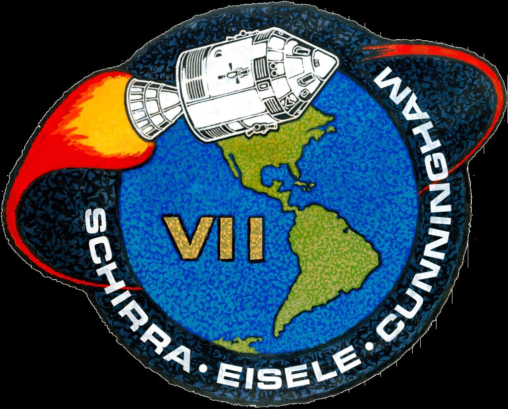 Insignia de la misión Apolo 7