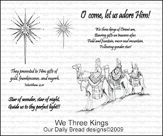 Our Daily Bread Designs - Stamps We Three Kings