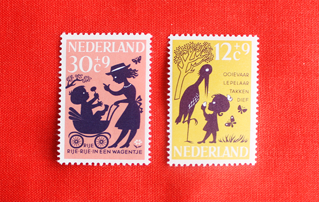 national stationery week - stamps from present and correct