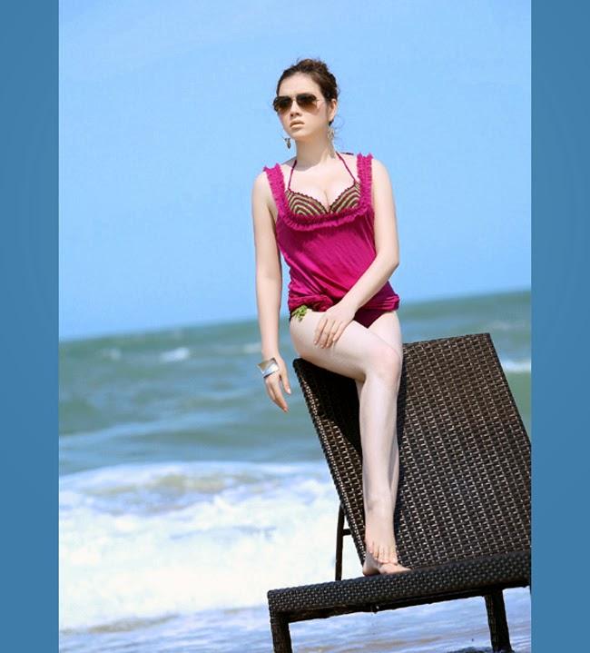 Ảnh bikini hiếm thấy của mỹ nhân Việt
