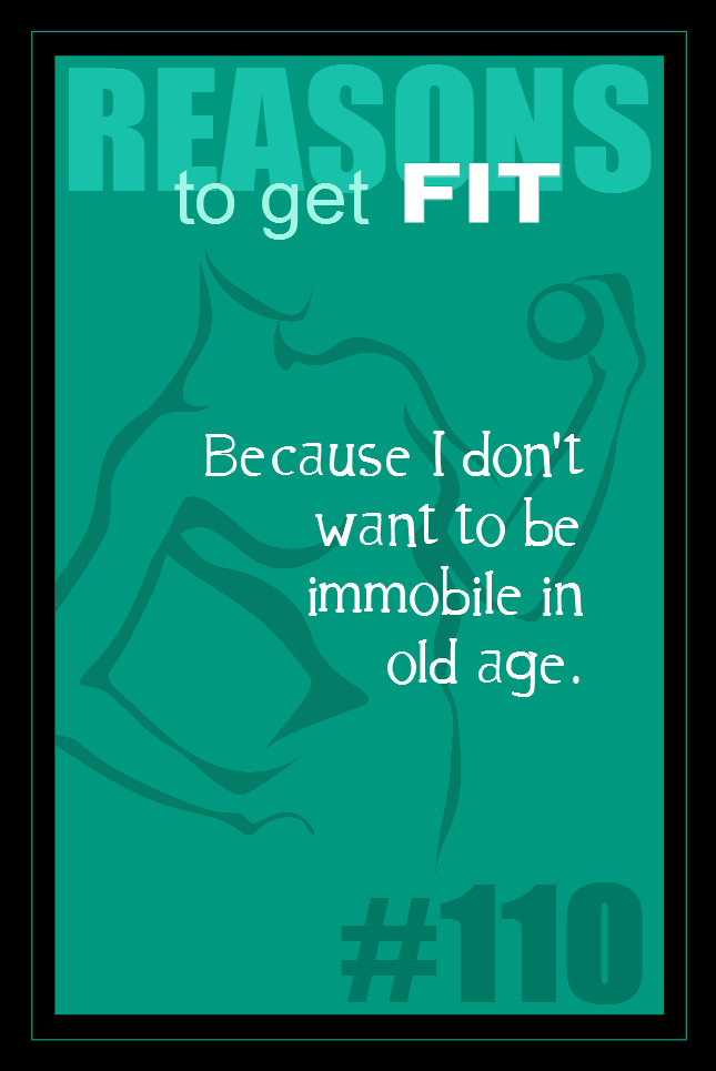 365 Reasons to Get Fit #110
