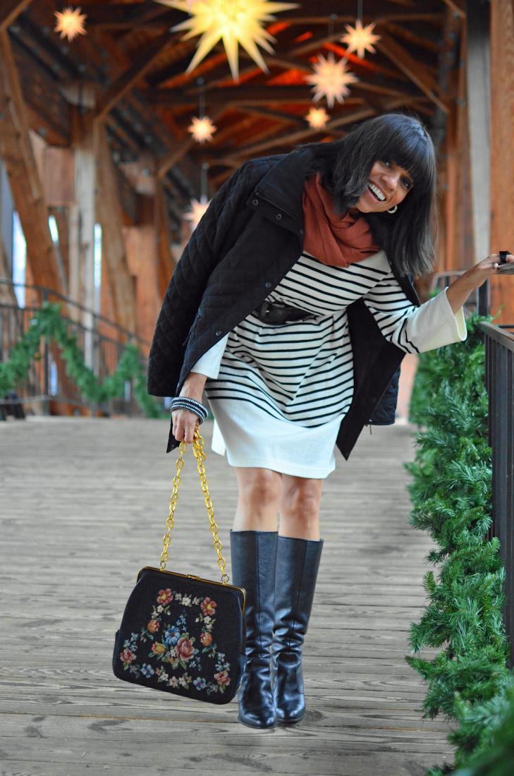 Dolce & Gabbana Needlepoint Bag Style Look