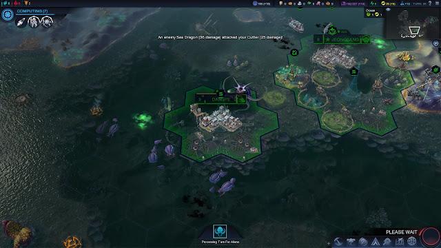 Screenshot of Beyond Earth - Rising Tide