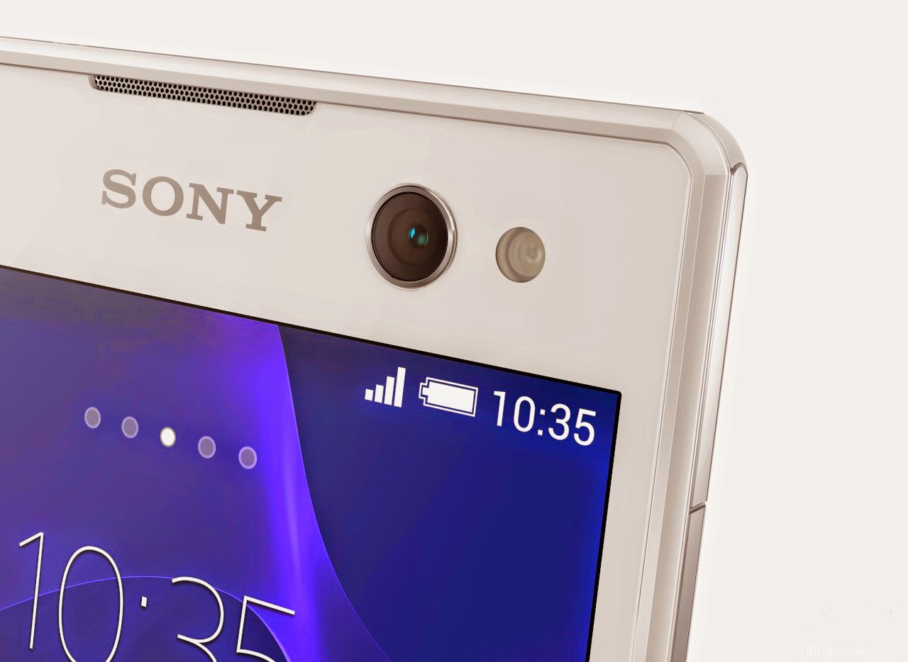 Sony Xperia C3 - 5 MP Front Camera with LED flash