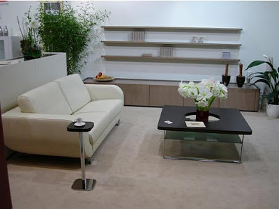 Contemporary Clean Living Room Design Interior Sets.4