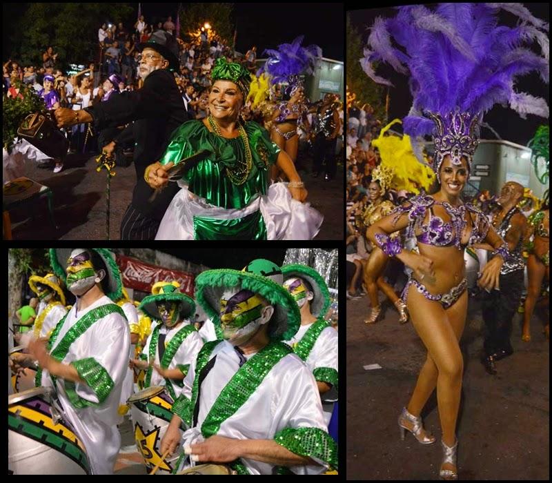 Carnaval. Desfile de Llamadas.La Gozadera.