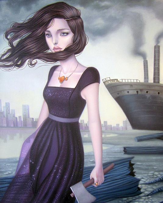 Sarah Joncas, Decadence and Despair, Thinkspace Gallery