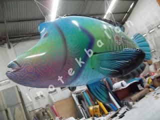Balon karakter Ikan untuk Sea World