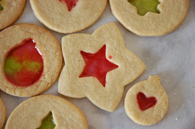 Stained Glass Cookies - Adapted from Martha Stewart