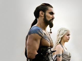 Boda entre Khal Drogo y Daenerys Targaryen