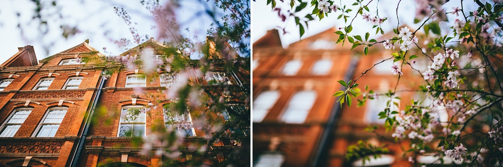 mayfair buildings in focus pretty wedding photography