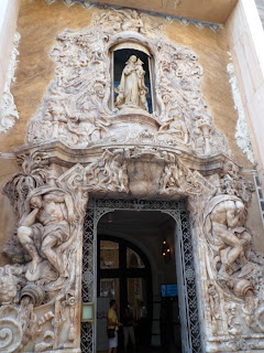 Doorway of Palacio del Marques de Dos Aguas, Valencia