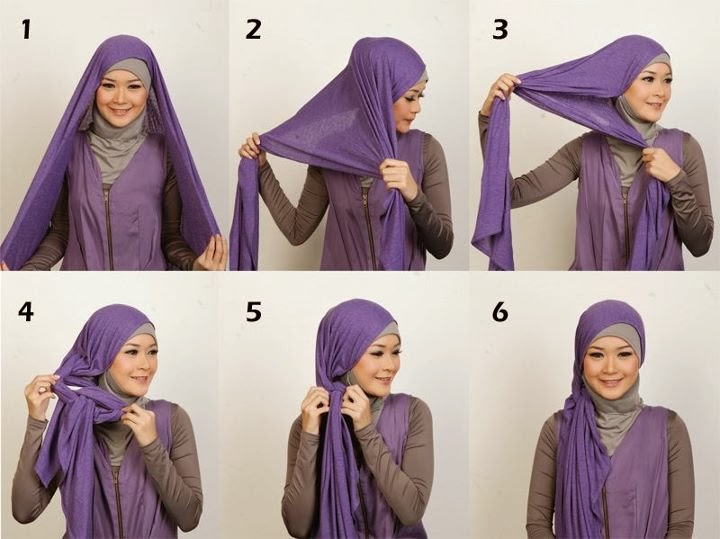 Tips Memakai Model Jilbab Modern