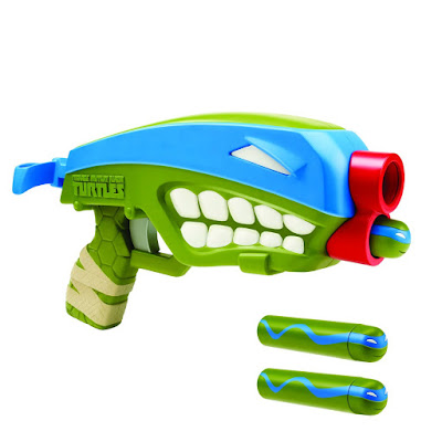 TOYS : JUGUETES - LAS TORTUGAS NINJA  TMNT | Teenage Mutant Ninja Turtles  T-Blasts - Double-Barrel : Leonardo | Pistola - Blaster   Producto Oficial 2016 | A partir de 4 años  Comprar en Amazon España & buy Amazon USA