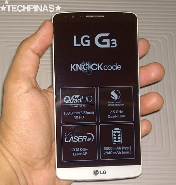 LG G3 Unboxing