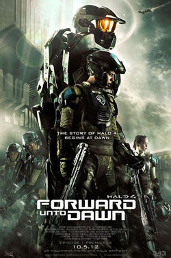 Halo 4: Forward Unto Dawn 2012 poster