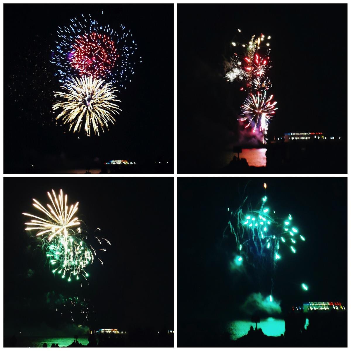 Bonfire Night fireworks, Worthing