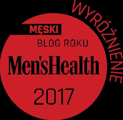 """Mój blog po raz kolejny został wyróżniony w konkursie """"Męski Blog Roku 2017""""w kategorii Styl !"""