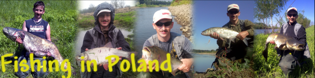 Fishing in Poland - spinning, casting and flyfishing for many different fish species
