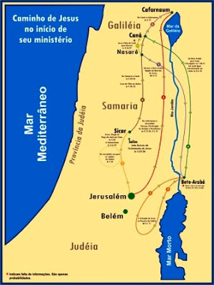 In cio do minist rio de jesus mapas b blicos for Ministerio del interior ubicacion mapa