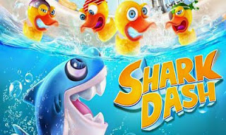 Screenshots of the Shark Dash for Android tablet, phone.