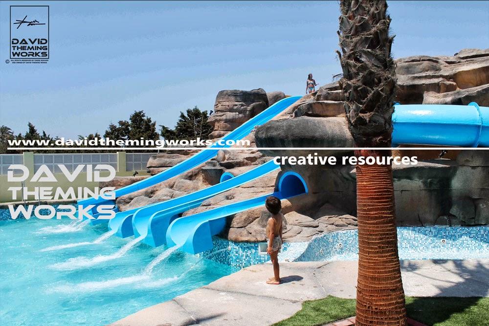 toboganes para piscinas tematizacion creativa