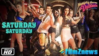 Saturday Saturday - Humpty Sharma Ki Dulhania (2014) HD Music Video Watch Online