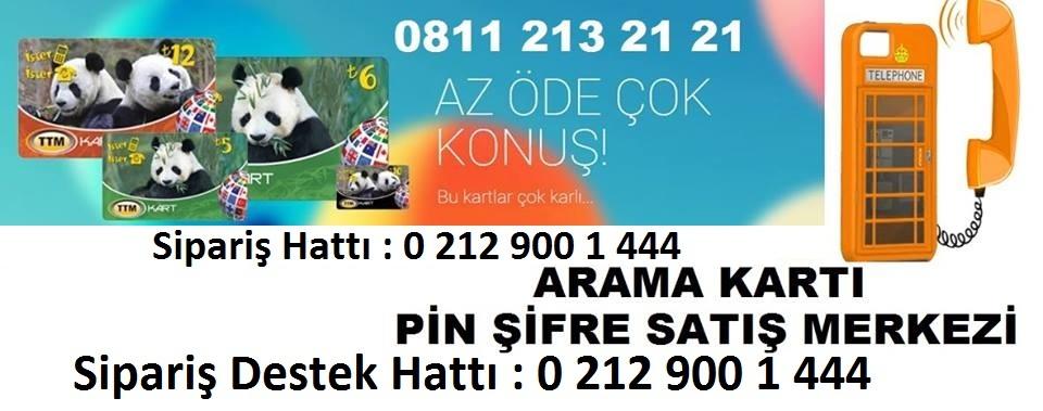0 811 213 21 21 arama kartı pin şifre satış
