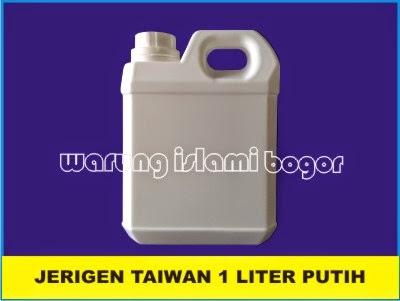 Jual Jerigen HDPE 1 Liter Putih Susu