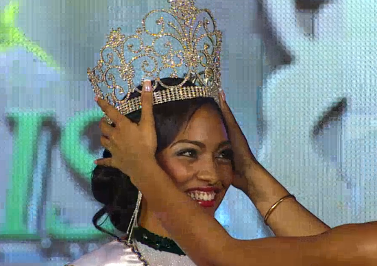 Miss Jamaica World 2014 winner Laurie Ann Chin