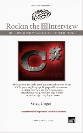 BUY THE BOOK - 2017 Rockin the C# Interview