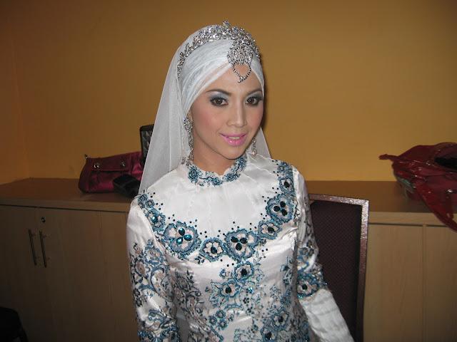Seriayu Makeover: Model Makeup For Pameran Pengantin Di SACC Shah Alam