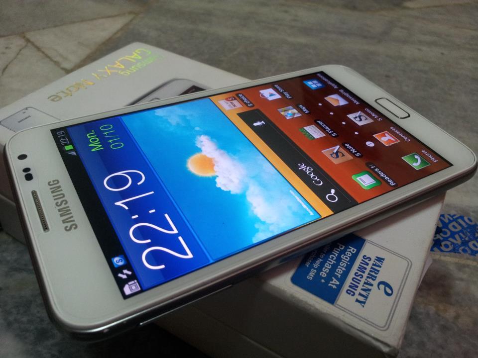 Second Hand - Samsung Galaxy Note GT N7000 (White)