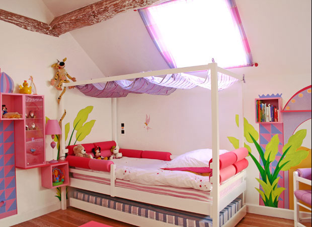 Design chambre fille etmseo for Decoration chambre fille 3 ans