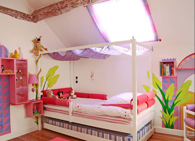 Design chambre fille: juillet 2011