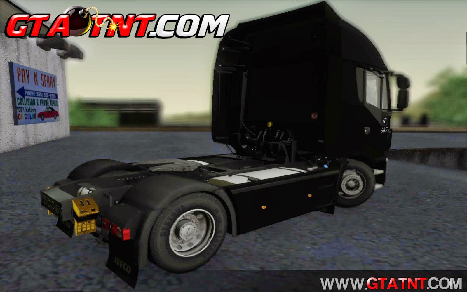 Iveco Stralis HiWay 560 e6 4x2 para GTA San Andreas