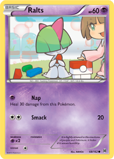 Ralts BREAKthrough Pokemon Card
